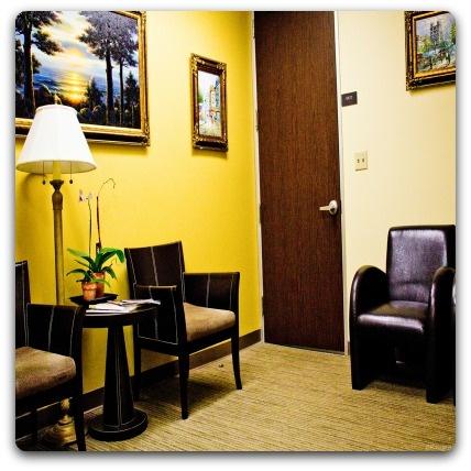 Empty Waiting Room Image