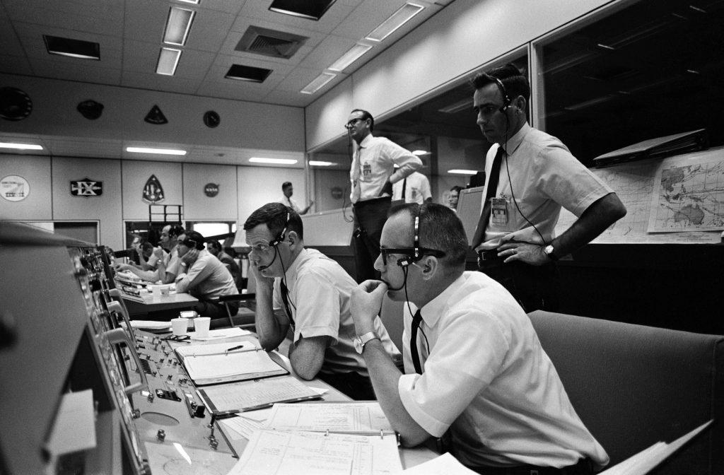 Mission Control - Apollo 10 Image