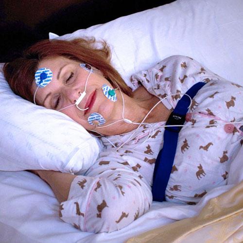 Lady Sleeping Study Image