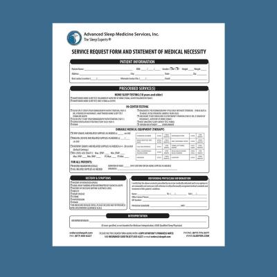Service Request Form (Prescription)
