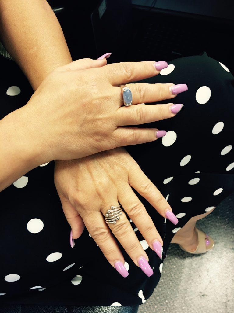 Do Acrylic Fingernails Interfere with Sleep Study