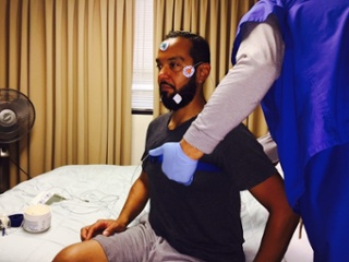 Getting Ready for Sleep Study Image