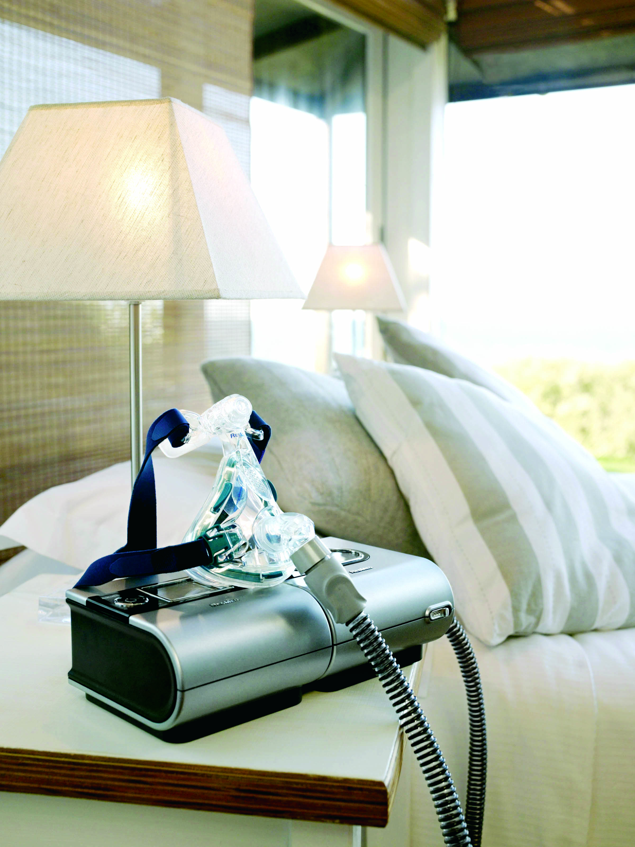 ResMed Mirage Quattro Full Face Mask and CPAP