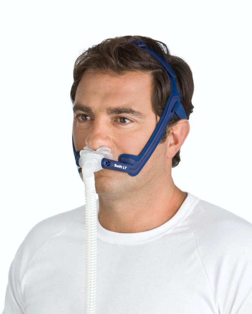 Swift Lt Nasal Pillows Mask System With Headgear