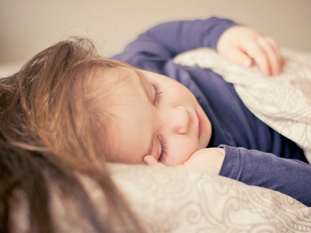 Sleeping Child Image