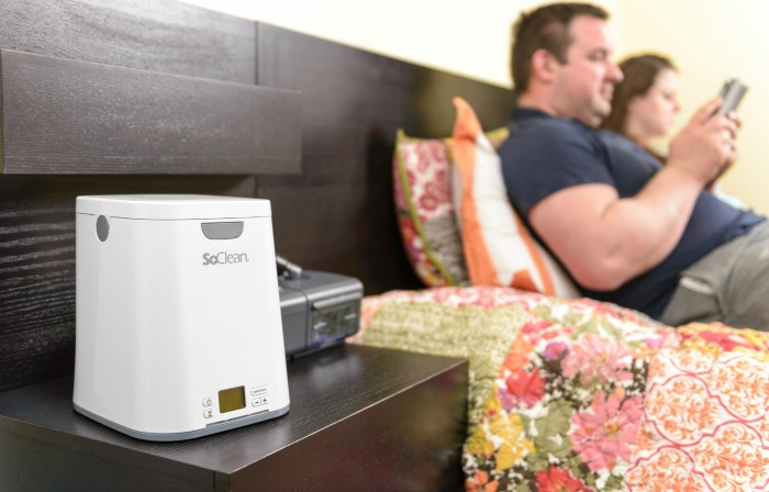 SoClean Makes Daily Cleaning of Your CPAP Equipment So Easy