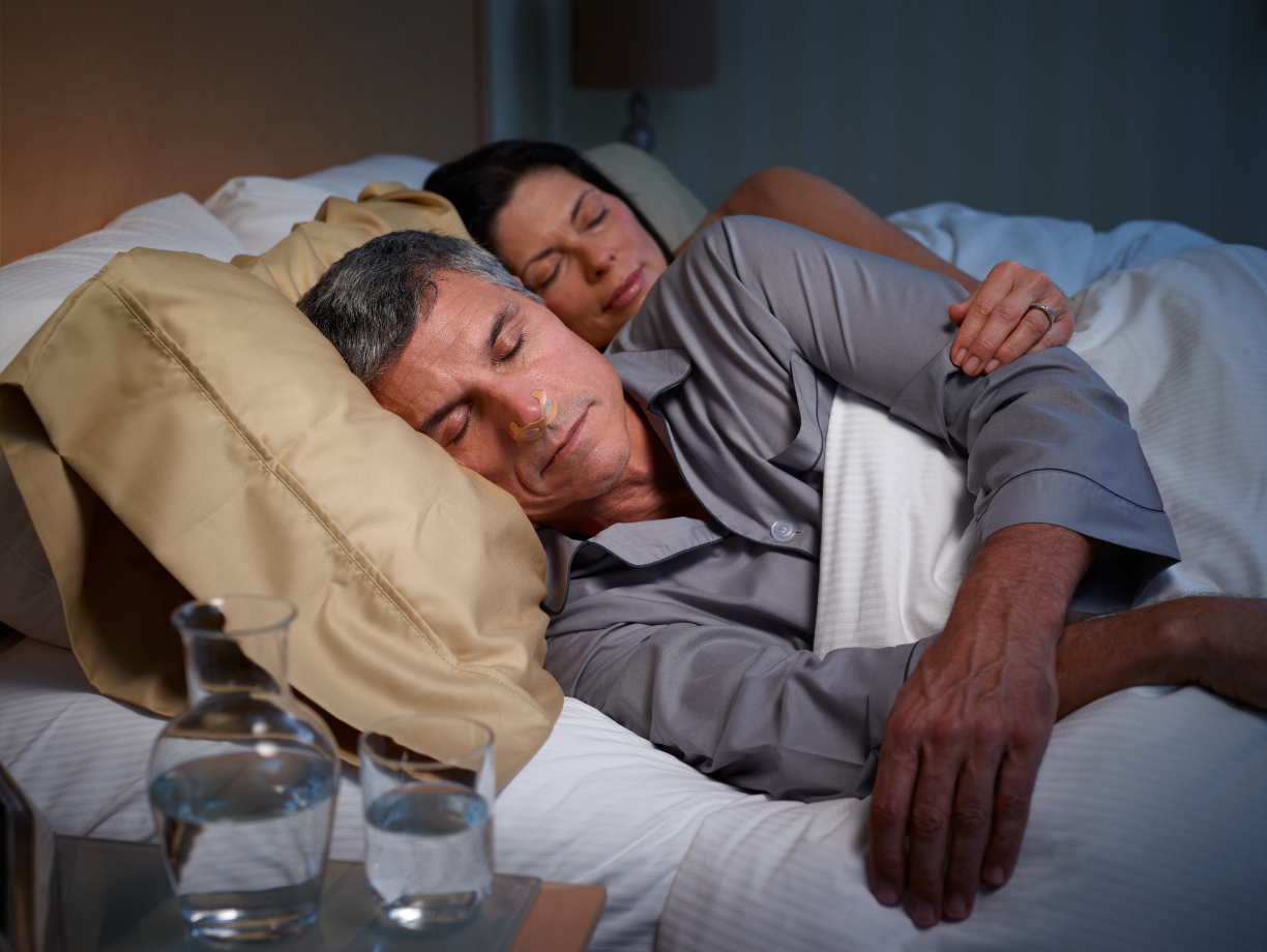 Provent Therapy Couple in Bed