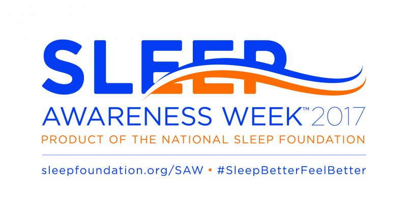 Sleep Awareness Week 2017