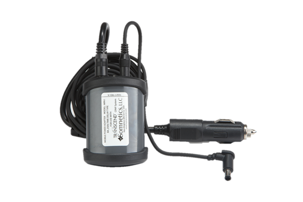 Transcend mobile power adaptor for travel cpap